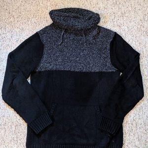 Mens Guess Shawl Collar Knit Sweater Medium